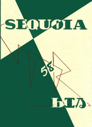 1958 Edition, Eureka High School - Sequoia Yearbook (Eureka, CA)