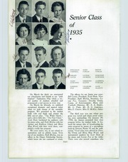 Page 16, 1935 Edition, San Juan Union High School - Greenback Notes Yearbook (Fair Oaks, CA) online yearbook collection