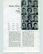 Page 17, 1935 Edition, San Juan Union High School - Greenback Notes Yearbook (Fair Oaks, CA) online yearbook collection