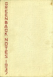 1937 Edition, San Juan Union High School - Greenback Notes Yearbook (Fair Oaks, CA)