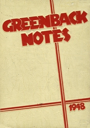 1948 Edition, San Juan Union High School - Greenback Notes Yearbook (Fair Oaks, CA)