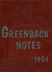 1954 Edition, San Juan Union High School - Greenback Notes Yearbook (Fair Oaks, CA)