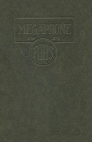 Fortuna Union High School - Megaphone Yearbook (Fortuna, CA) online yearbook collection, 1924 Edition, Page 1