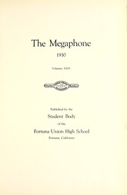 Page 9, 1930 Edition, Fortuna Union High School - Megaphone Yearbook (Fortuna, CA) online yearbook collection