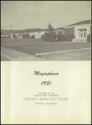 Page 7, 1951 Edition, Fortuna Union High School - Megaphone Yearbook (Fortuna, CA) online yearbook collection