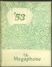 1953 Edition, Fortuna Union High School - Megaphone Yearbook (Fortuna, CA)