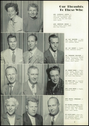 Page 14, 1953 Edition, Fowler High School - Litoria Yearbook (Fowler, CA) online yearbook collection
