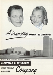 Page 102, 1958 Edition, Bullard High School - Lance Yearbook (Fresno, CA) online yearbook collection