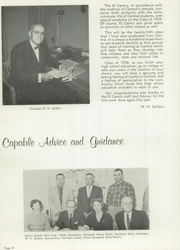 Page 12, 1958 Edition, Central High School - El Centro Yearbook (Fresno, CA) online yearbook collection