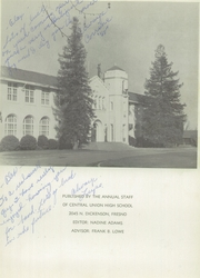 Page 5, 1958 Edition, Central High School - El Centro Yearbook (Fresno, CA) online yearbook collection