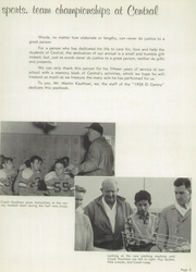 Page 7, 1958 Edition, Central High School - El Centro Yearbook (Fresno, CA) online yearbook collection