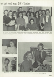 Page 11, 1959 Edition, Central High School - El Centro Yearbook (Fresno, CA) online yearbook collection