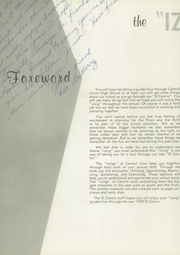 Page 6, 1959 Edition, Central High School - El Centro Yearbook (Fresno, CA) online yearbook collection