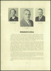 Page 16, 1936 Edition, Washington Union High School - Washingtonian Yearbook (Fresno, CA) online yearbook collection