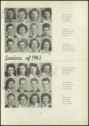 Page 17, 1943 Edition, Washington Union High School - Washingtonian Yearbook (Fresno, CA) online yearbook collection