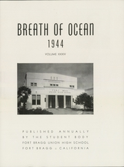 Page 7, 1944 Edition, Fort Bragg High School - Breath of Ocean Yearbook (Fort Bragg, CA) online yearbook collection