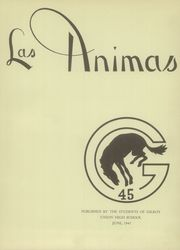 Page 5, 1945 Edition, Gilroy High School - Las Animas Yearbook (Gilroy, CA) online yearbook collection