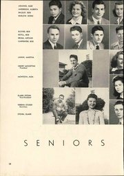 Page 16, 1944 Edition, Gonzales High School - Spartan Yearbook (Gonzales, CA) online yearbook collection