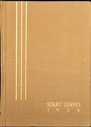 1936 Edition, Grass Valley High School - Stray Leaves Yearbook (Grass Valley, CA)