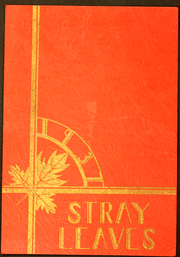 1937 Edition, Grass Valley High School - Stray Leaves Yearbook (Grass Valley, CA)