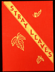 1939 Edition, Grass Valley High School - Stray Leaves Yearbook (Grass Valley, CA)