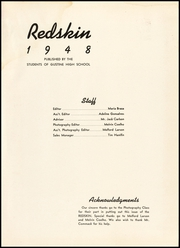 Page 5, 1948 Edition, Gustine High School - Redskin Yearbook (Gustine, CA) online yearbook collection