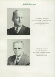 Page 14, 1949 Edition, Mount Vernon High School - Surveyor Yearbook (Alexandria, VA) online yearbook collection