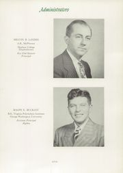 Page 15, 1949 Edition, Mount Vernon High School - Surveyor Yearbook (Alexandria, VA) online yearbook collection