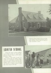 Page 10, 1952 Edition, Mount Vernon High School - Surveyor Yearbook (Alexandria, VA) online yearbook collection