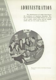 Page 13, 1952 Edition, Mount Vernon High School - Surveyor Yearbook (Alexandria, VA) online yearbook collection