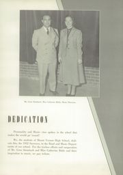 Page 9, 1952 Edition, Mount Vernon High School - Surveyor Yearbook (Alexandria, VA) online yearbook collection