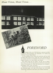 Page 8, 1960 Edition, Mount Vernon High School - Surveyor Yearbook (Alexandria, VA) online yearbook collection