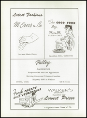 Page 62, 1956 Edition, Hamilton Union High School - Tomahawk Yearbook (Hamilton City, CA) online yearbook collection