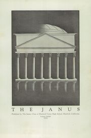 Page 7, 1933 Edition, Hanford High School - Janus Yearbook (Hanford, CA) online yearbook collection