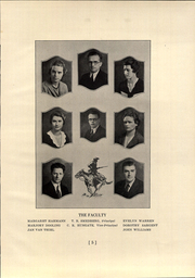 Page 9, 1933 Edition, Jackson High School - Jacksonian Yearbook (Jackson, CA) online yearbook collection