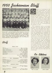 Page 10, 1953 Edition, Jackson High School - Jacksonian Yearbook (Jackson, CA) online yearbook collection
