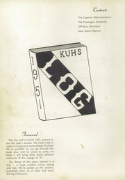 Page 6, 1951 Edition, Kerman High School - Lion Yearbook (Kerman, CA) online yearbook collection