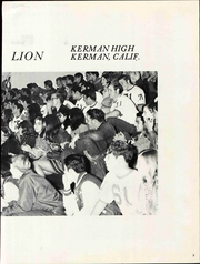 Page 7, 1971 Edition, Kerman High School - Lion Yearbook (Kerman, CA) online yearbook collection