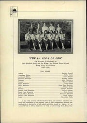 Page 16, 1928 Edition, King City Joint Union High School - Mustang Yearbook (King City, CA) online yearbook collection