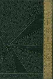 Kingsburg High School - Viking Yearbook (Kingsburg, CA) online yearbook collection, 1940 Edition, Page 1