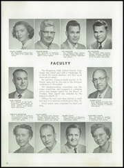Page 14, 1957 Edition, Kingsburg High School - Viking Yearbook (Kingsburg, CA) online yearbook collection
