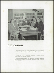 Page 7, 1957 Edition, Kingsburg High School - Viking Yearbook (Kingsburg, CA) online yearbook collection
