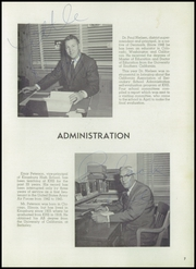 Page 11, 1958 Edition, Kingsburg High School - Viking Yearbook (Kingsburg, CA) online yearbook collection