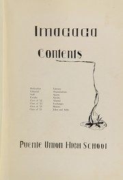 Page 7, 1922 Edition, La Puente High School - Imagaga Yearbook (La Puente, CA) online yearbook collection