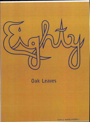 Page 1, 1980 Edition, Laton High School - Oak Leaves Yearbook (Laton, CA) online yearbook collection