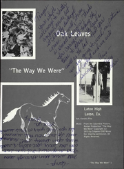 Page 7, 1980 Edition, Laton High School - Oak Leaves Yearbook (Laton, CA) online yearbook collection