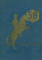 Page 1, 1958 Edition, Lennox High School - Troubadour Yearbook (Lennox, CA) online yearbook collection