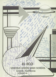 Page 5, 1956 Edition, Lincoln High School - El Eco Yearbook (Lincoln, CA) online yearbook collection