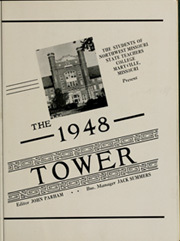 Page 7, 1948 Edition, Northwest Missouri State University - Tower Yearbook (Maryville, MO) online yearbook collection