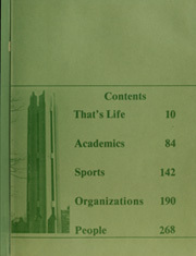 Page 3, 1982 Edition, Northwest Missouri State University - Tower Yearbook (Maryville, MO) online yearbook collection